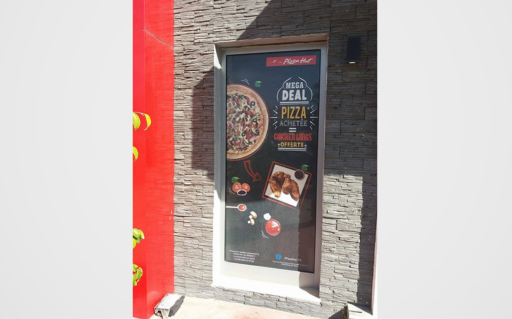pizza hut habillage promo digital syndrom