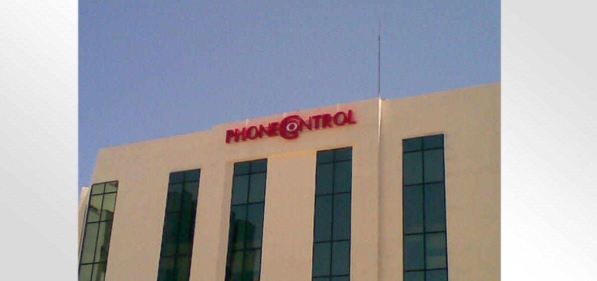 Enseigne Lumineuse PhoneControl