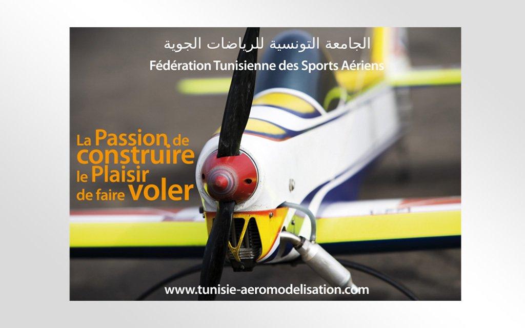 Affiche la Fédération Tunisienne des Sport Aériens