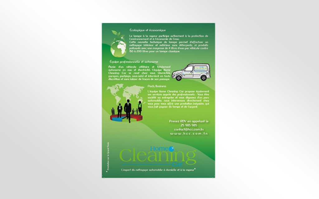 Charte graphique Home Cleaning Car