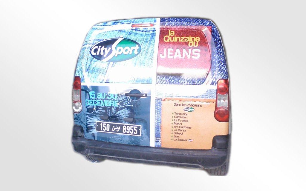Habillage utilitaire CitySport