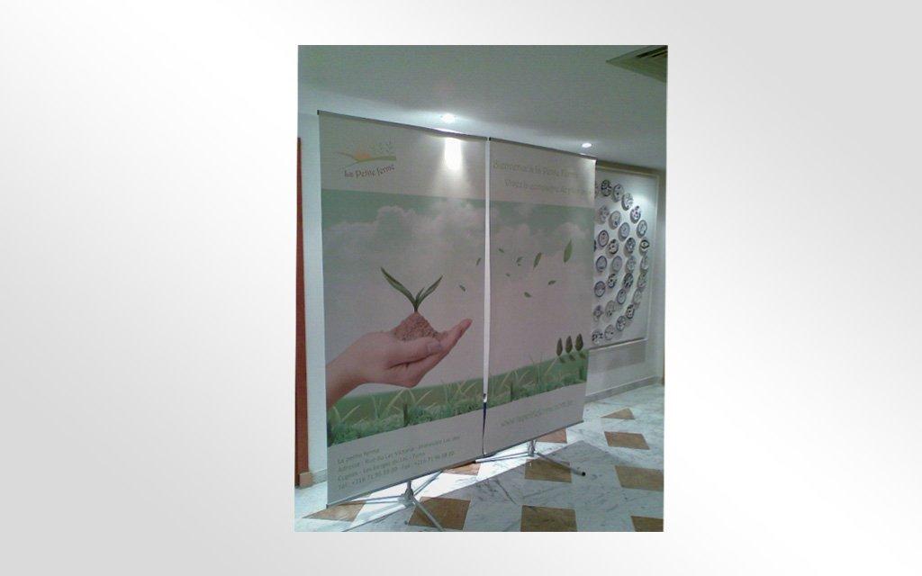 Conception et impression affiches Salon de l'agriculture Le salon de l'agriculture SIAMAP qui s'est tenu