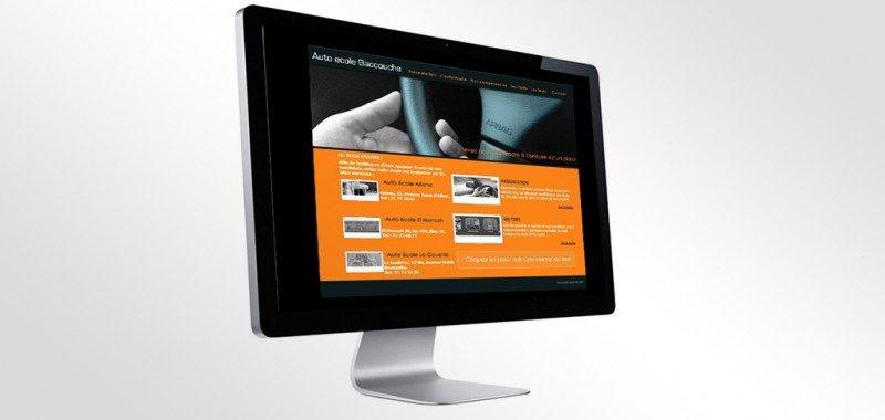 Site web Auto école Baccouche