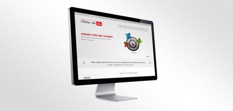 Site Web Below the line