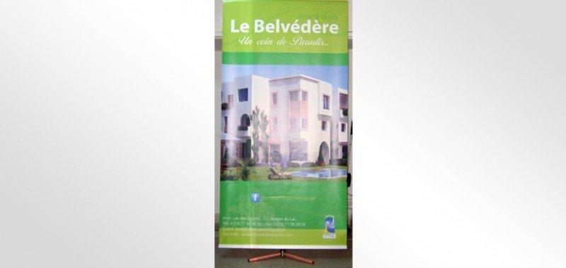 Affiches Immobilière La Paix