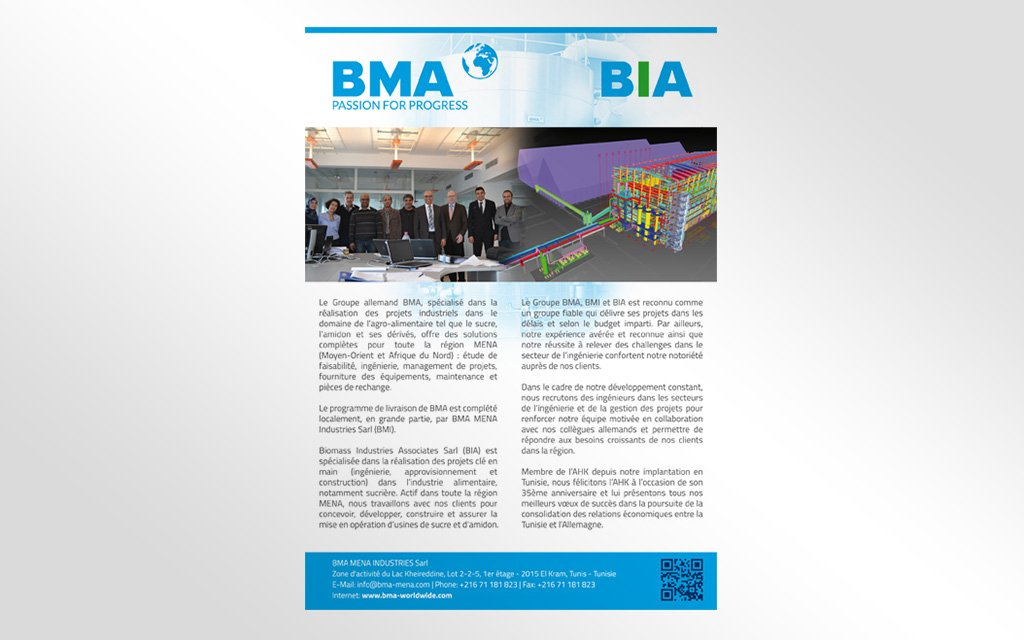 Insertion Magazine pour BMA