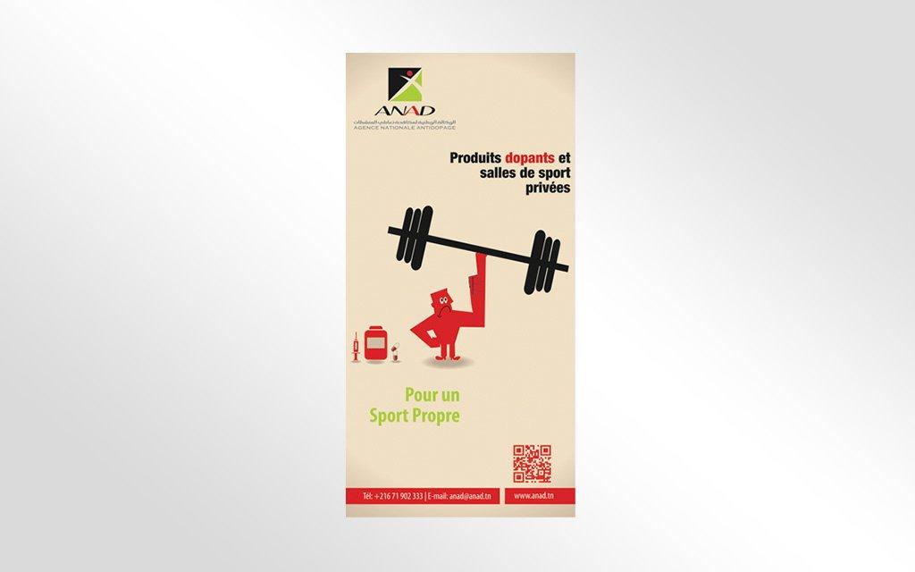 Structure Modulaire « salle de sport sans dopage »