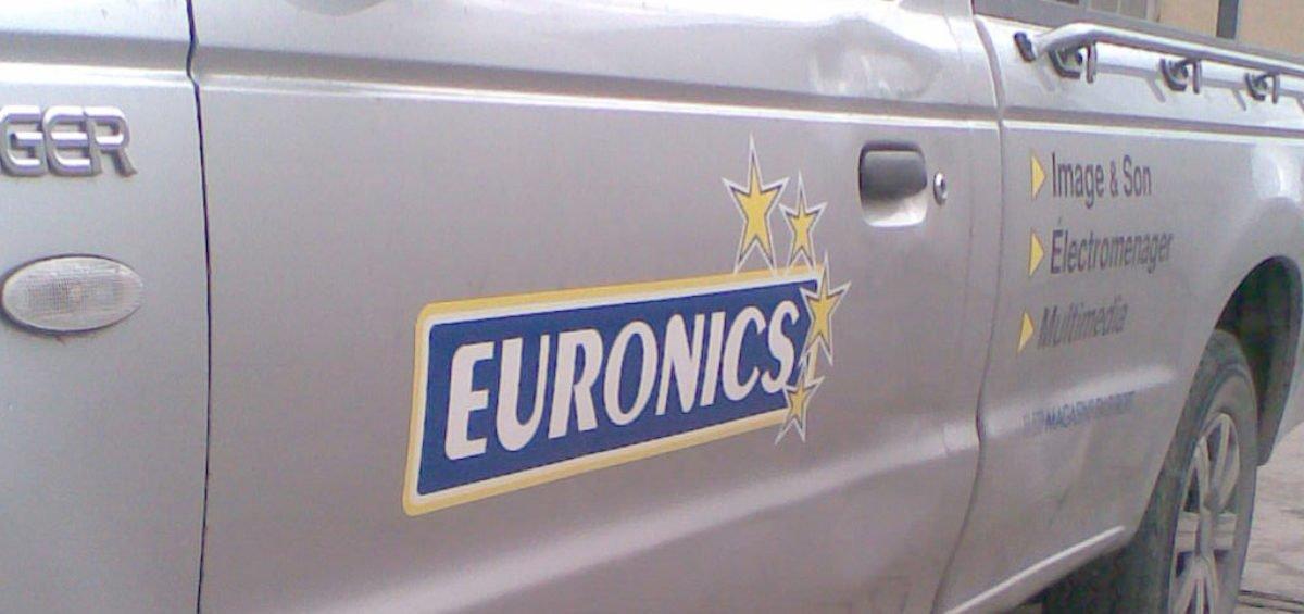 Habillage véhicule Euronics
