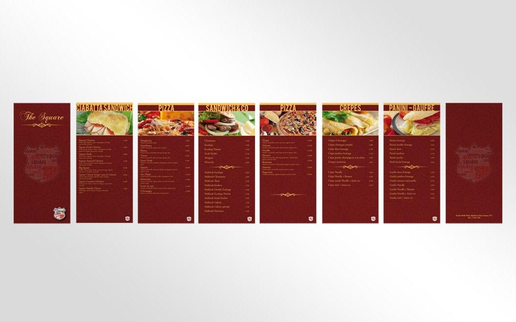 Menu Flyer pour Restaurant