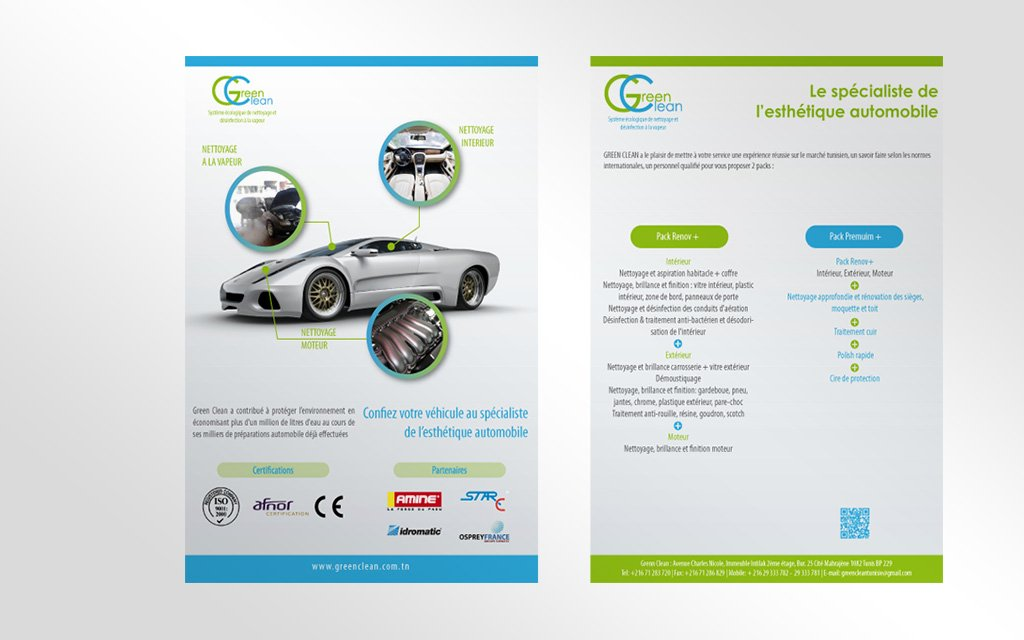Flyer GreenClean