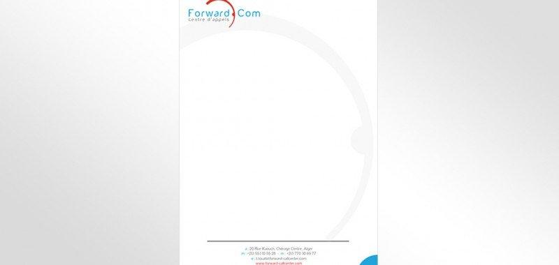 Papier a entête Forward Call Center