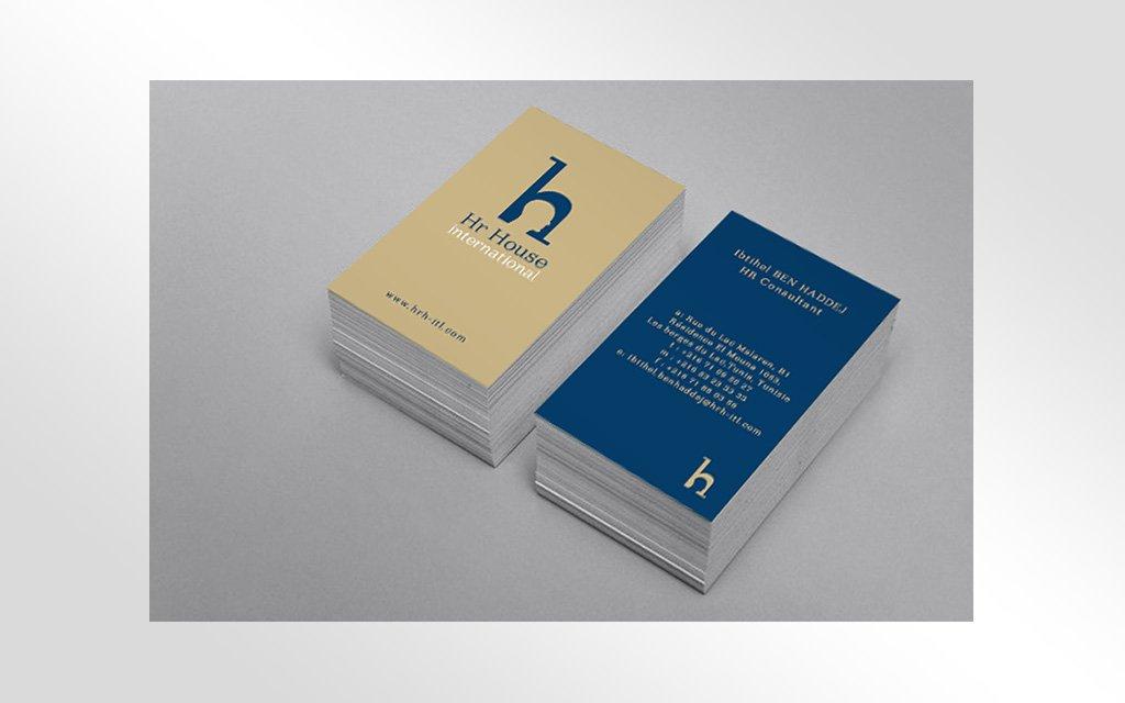 Carte de visite HRH