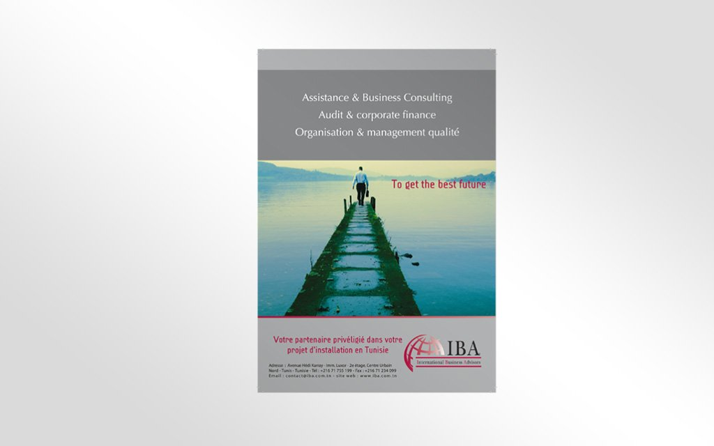 conception insertion Magazine pour IBA