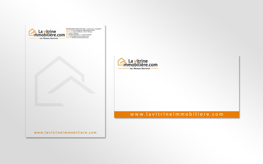 Charte graphique la vitrine immobilière