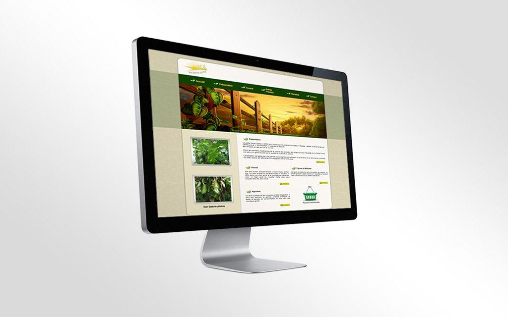 Conception Site web la petite ferme