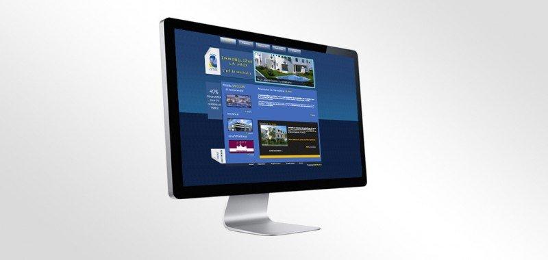 site web Immobilière la paix