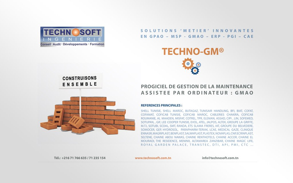 Affiche Technosoft