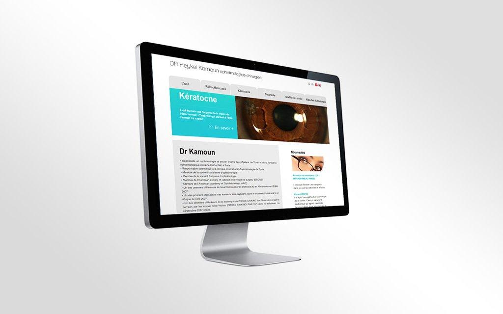 Site web docteur Kamoun