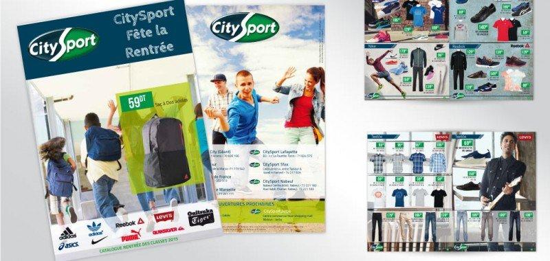 Catalogue rentrée scolaire Citysport