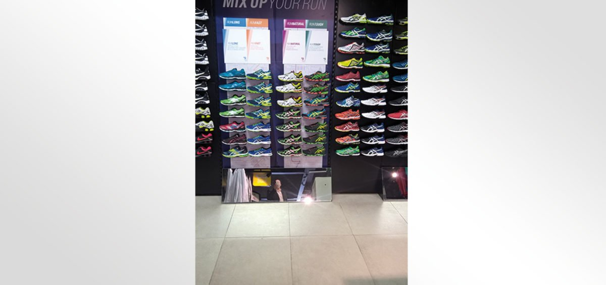 Habillage magasin CitySport Tunis City