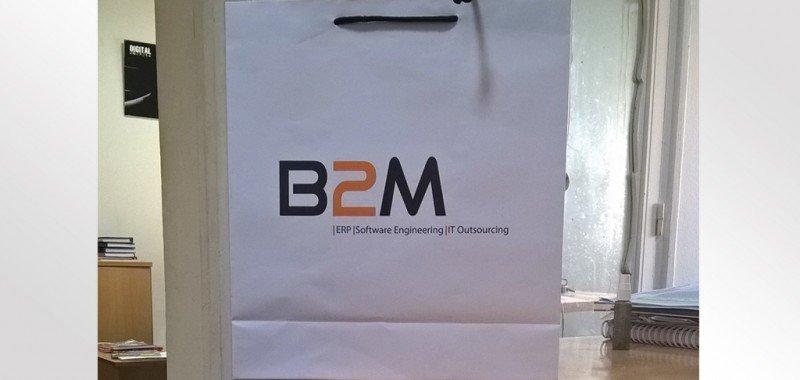 Sac en papier B2M