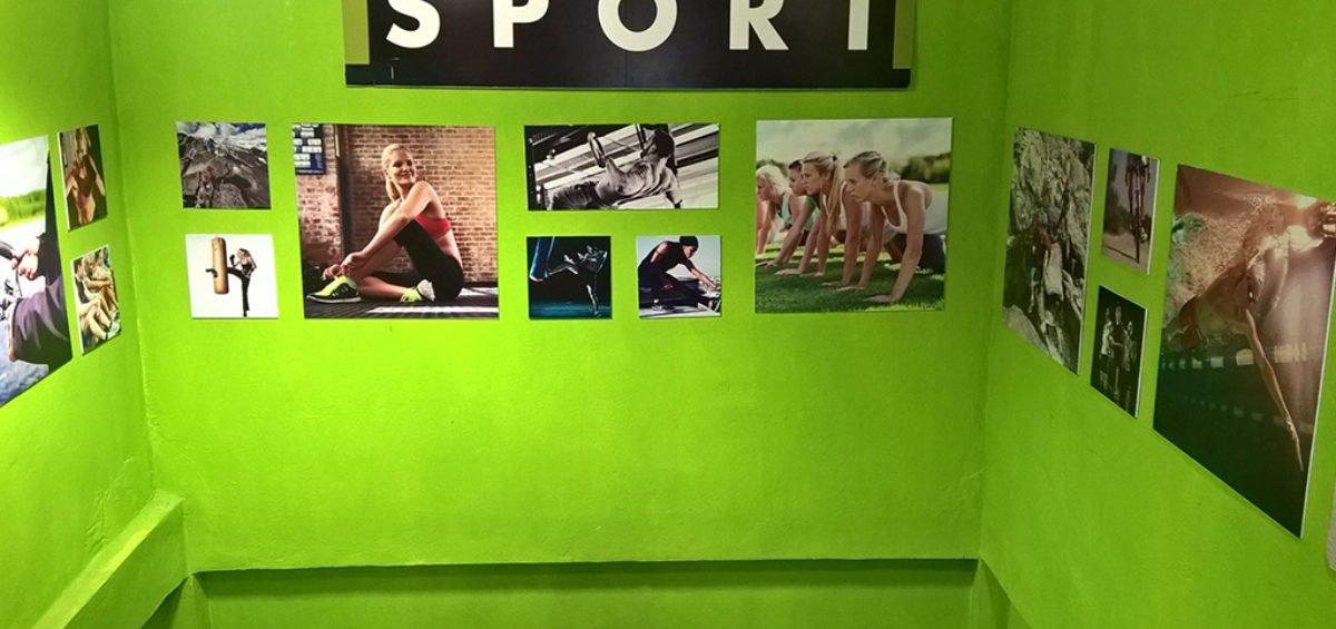 Habillage magasin Go Sport la Marsa