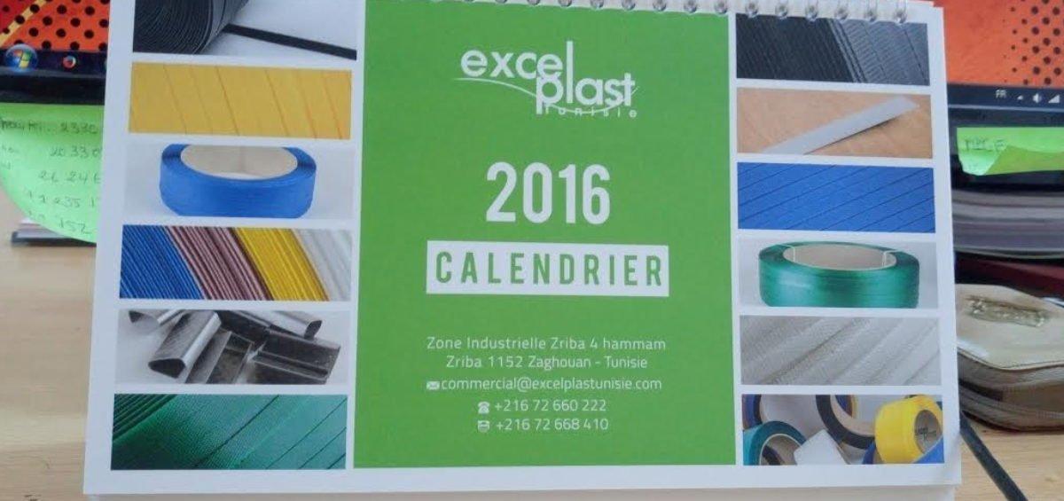 Calendrier excelplast 2016