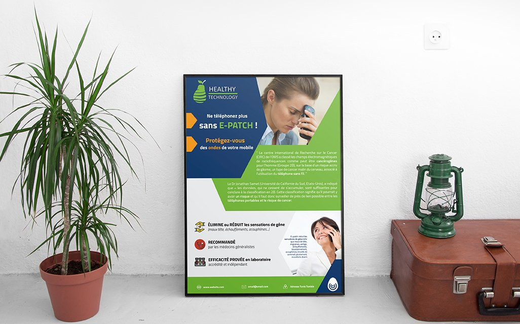 Affiche Healthy Technology