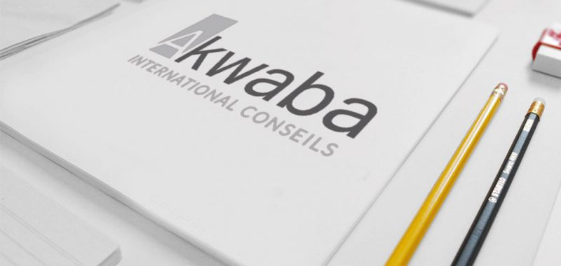 Conception logo Akwaba