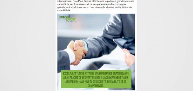 Excelplast Tunisie Community management