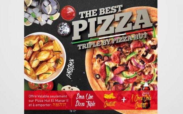 Pizza Hut visuel promo Carry out