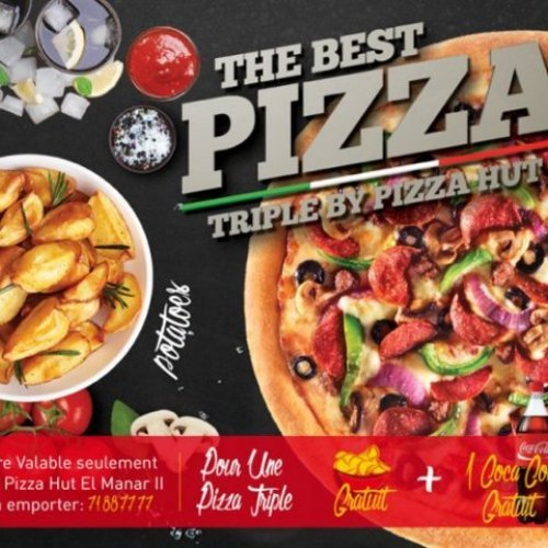 Pizza Hut visuel promo Carry out