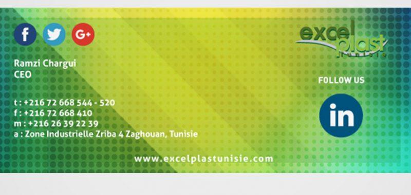 Excelplast Tunisie Email sign