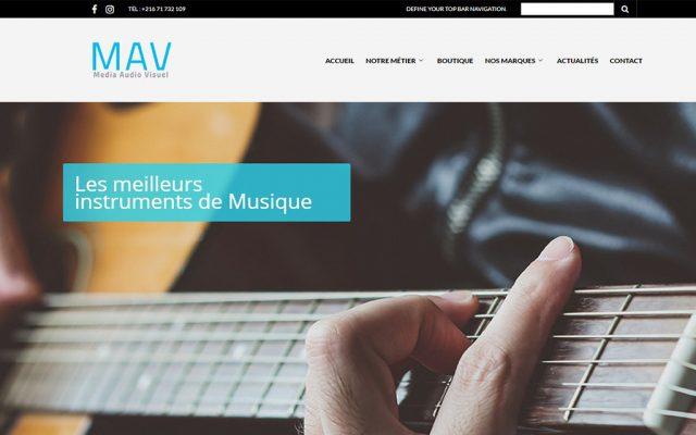 Conception site web MAV
