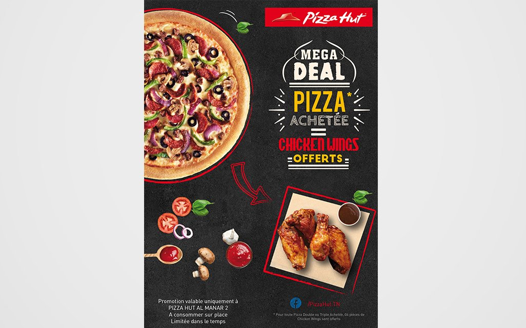 Pizza Hut promo flyer