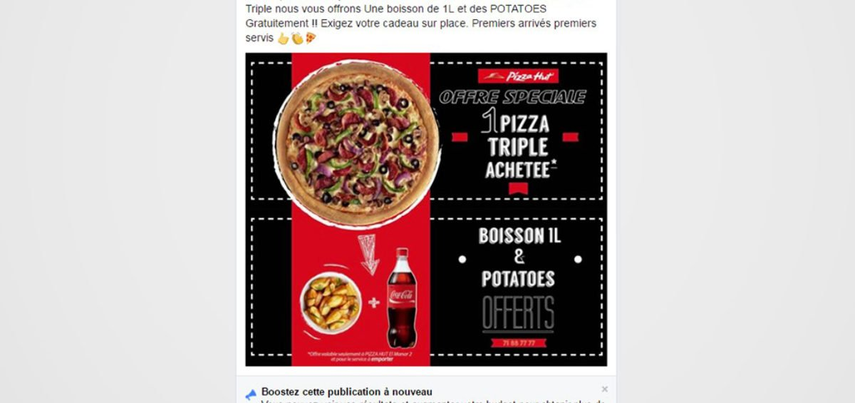Pizza Hut Community management