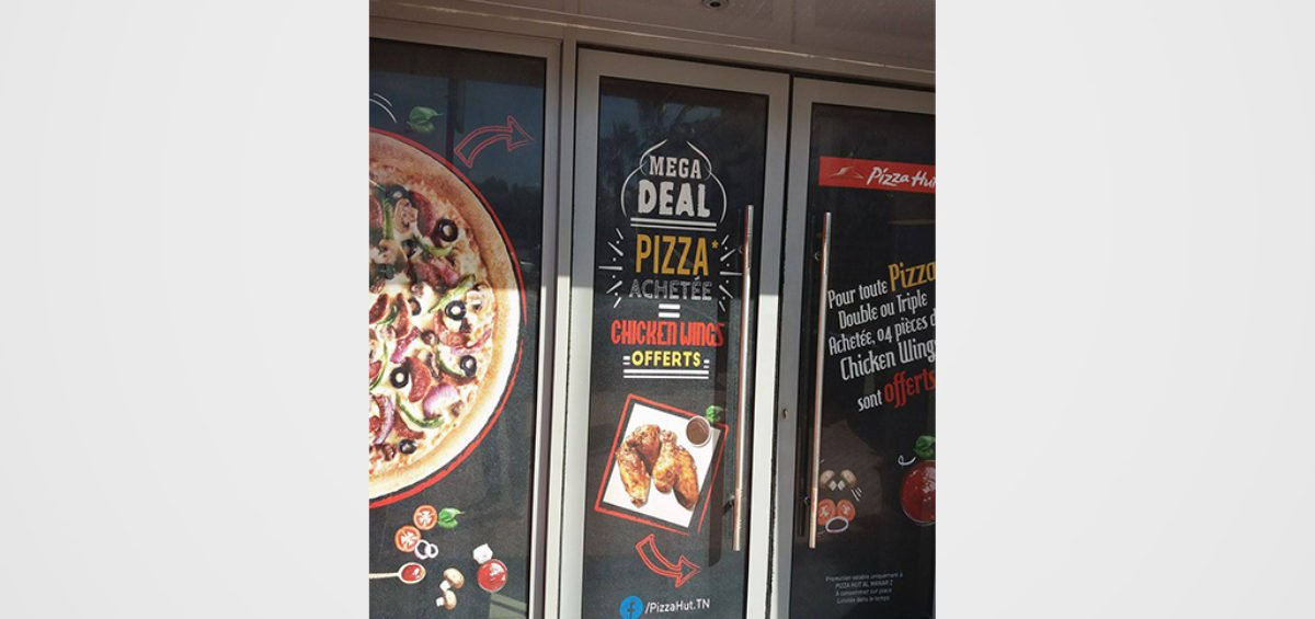 Pizza Hut Habillage promo