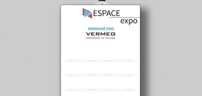 Panneau espace photo Forum ATUGE 2 x 2,5 m
