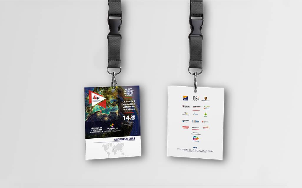 Badges Forum de L' ATUGE 2017