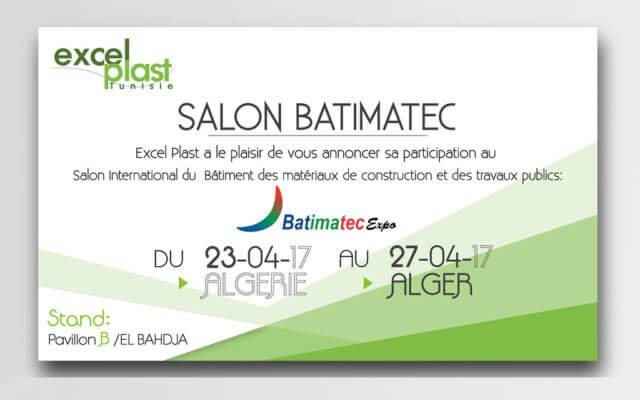 Community management Invitation Salon Excel Plast