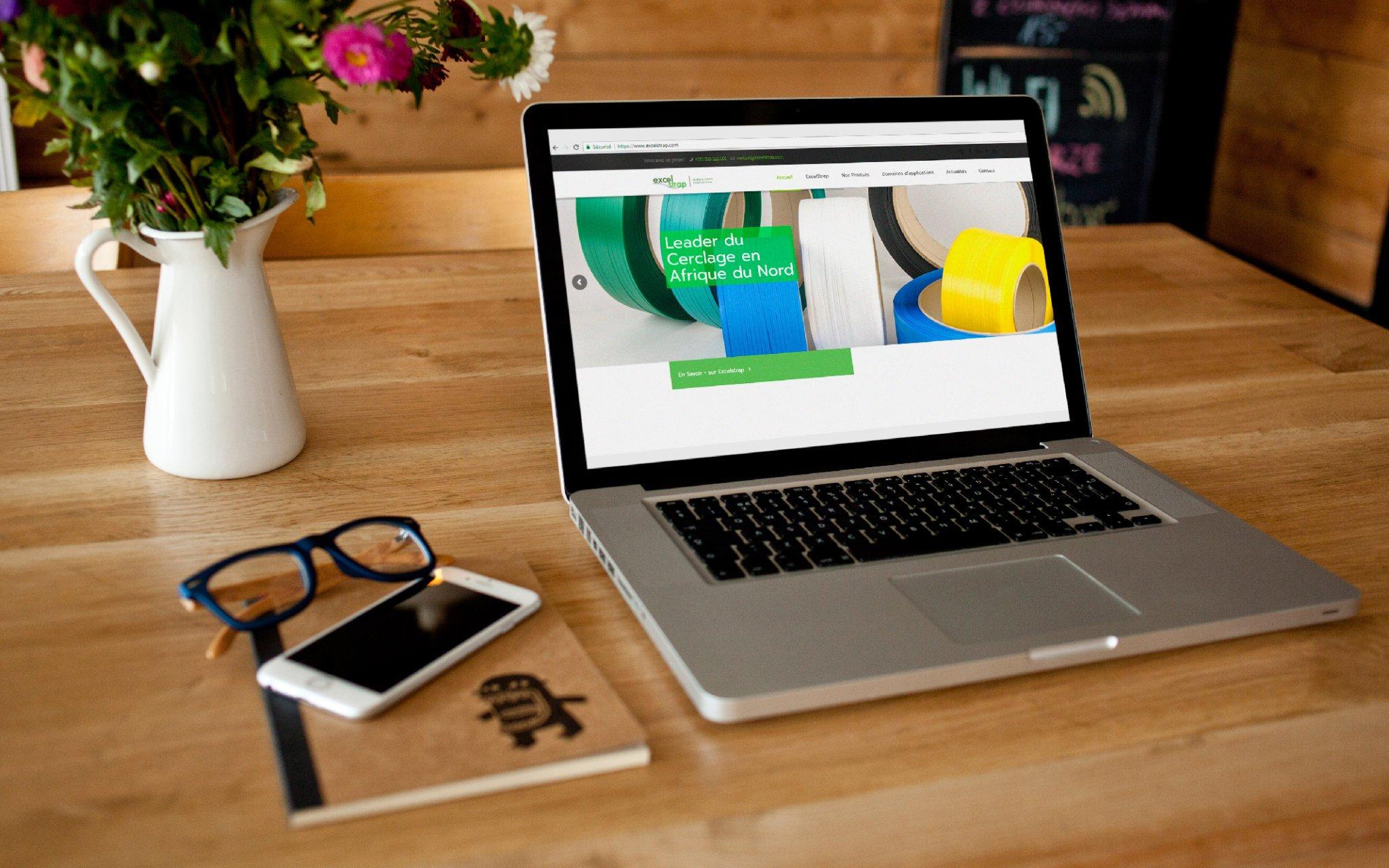 Conception site web ExcelStrap