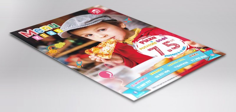 Flyer menu kids Pizza Hut