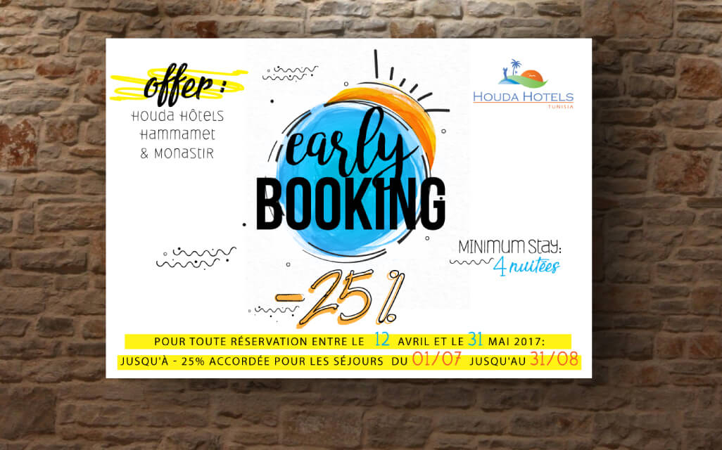 Conception Graphique Publication Houda Hotels