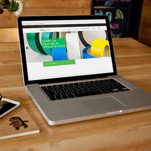 Conception site web pour ExcelStrap