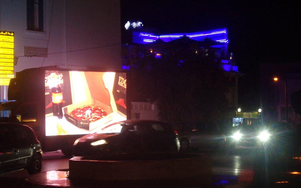 Pizza Hut Camion Mobile : Ouverture La Marsa