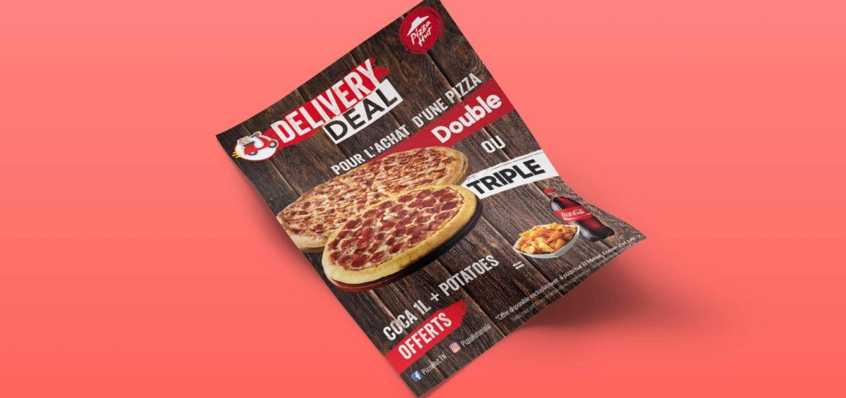 Conception Flyer Pizza Hut