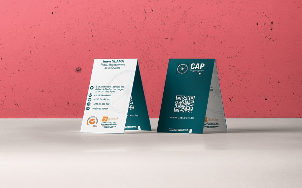 Conception et Impression carte de visite pour CAP