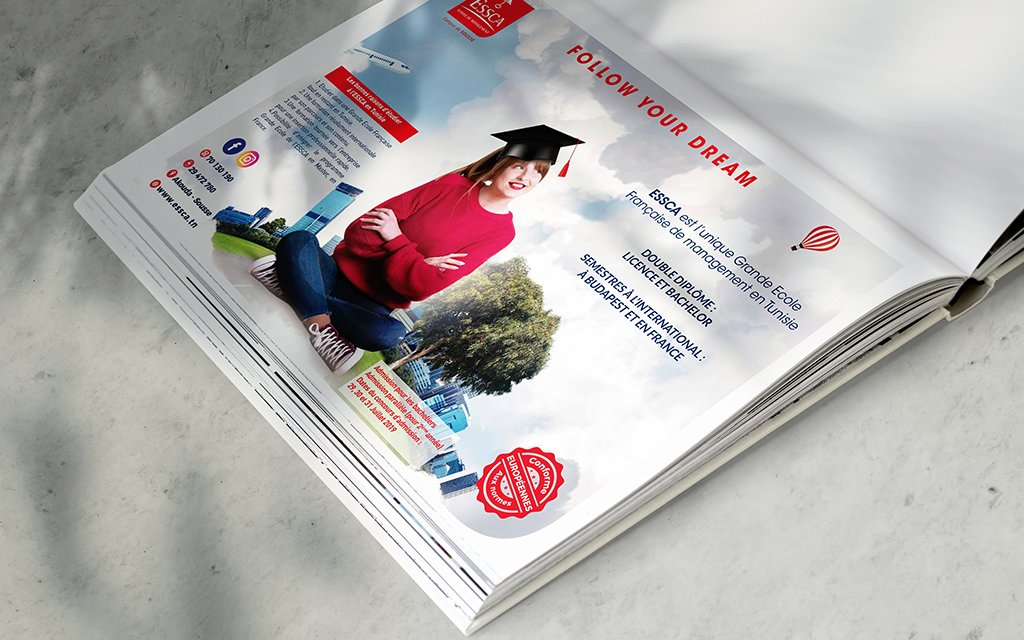 Insertion Magazine pour ESSCA