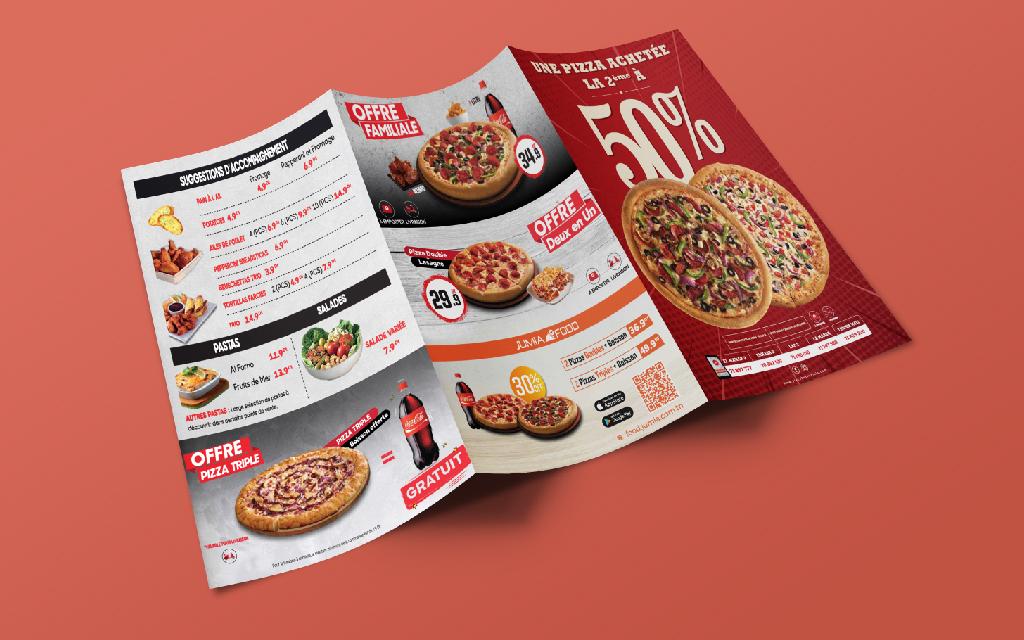 Dépliant BOGO Pizza Hut