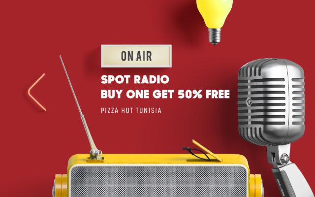 Campagne Radio Pizza Hut